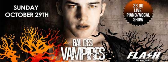FLASH - Bal des Vampires - Live Show | You Night Club - 29/10/2017