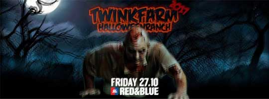 TwinkFarm HalloweenRanch 2017 | Red & Blue - 27/10/2017