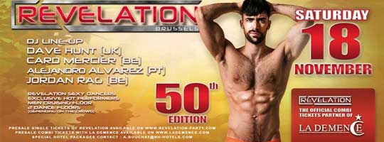REVELATION • 50th Edition ! | Bazaar - 18/11/2017