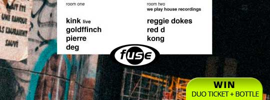 Fuse presents: KiNK - We Play House with Regie Dokes | Fuse - 21/10/2017
