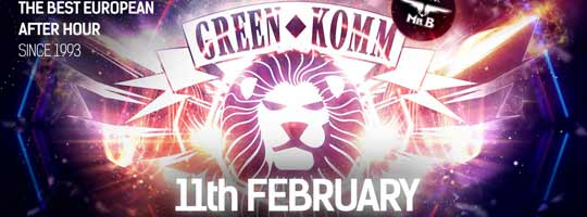 GREEN KOMM Carnival (Sexy Official Afterhour) | Cologne- 11/02/2018