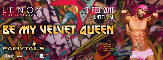 Be My Velvet Queen | Lenox Club - 03/02/2018