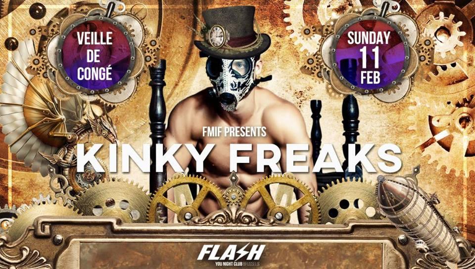 The Kinky Freaks by FMIF - FLASH | You Night Club - 11/02/2018