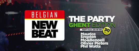 Belgian New Beat - The Party | Vooruit - 24/03/2018