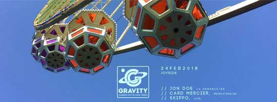 Gravity - Joyride (February Edition) | Degree - 24/02/2018