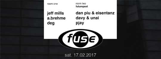 Jeff Mills - Futurepast invites Cartulis | Fuse - 17/02/2018