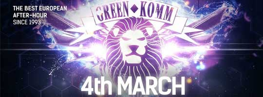 GREEN KOMM Spring Time Cologne 2018 | Nachtflug - 04/03/2018