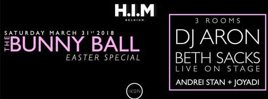 HIM & DRAMA present The Bunny Ball (Easter) ft ARON & Beth Sacks | IKON - 31/03/2018