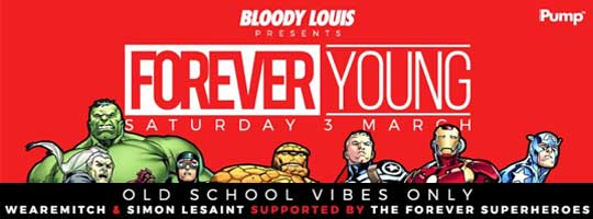 FOREVER YOUNG | Bloody Louis - 03/03/2018