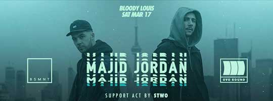 MAJID JORDAN (OVO) | Bloody Louis - 17/03/2018