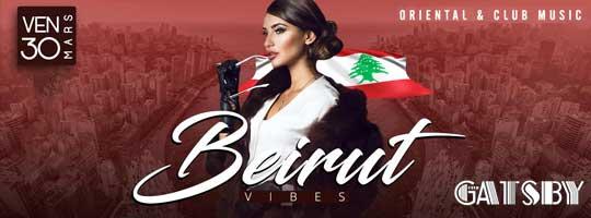 Beirut Vibes | Gatsby Club - 30/03/2018