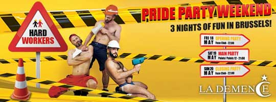La Demence - Pride Party Weekend - Main Party | Palais 12 - 19/05/2018
