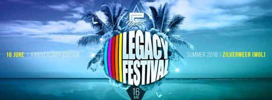 Legacy Festival Belgium 2018 | Zilvermeer - 16/06/2018
