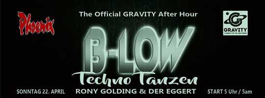 B-LOW - Techno Tanzen | Phoenix Sauna Köln - 22/04/2018