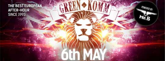 GREEN KOMM Closing Summer Break ! | Nachtflug - 06/05/2018