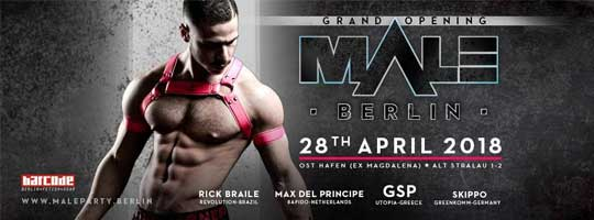 MALEparty Berlin -Grand Opening | Osthafen - 28/04/2018