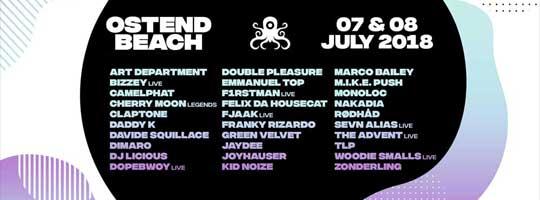 Ostend Beach 2018 | Klein Strand - 07/07/2018