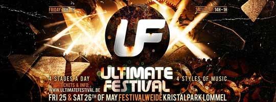 Ultimate Festival 2018 | Kristalpark Lommel - 25/05/2018