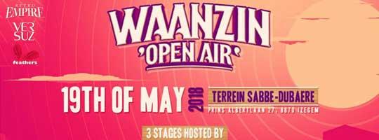 Waanzin Open Air 2018 | Sabbe-Dubaere - 19/05/2018