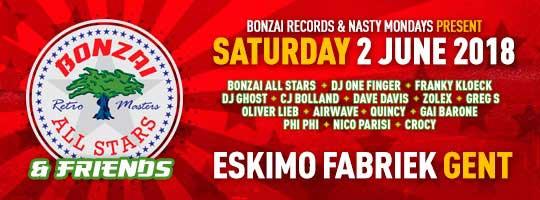 Bonzai All Stars & Friends | Eskimofabriek - 02/06/2018