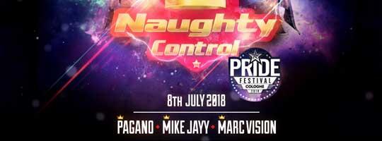 NaughtyControl Pride Circuit Cologne | COLOGNE - 08/07/2018