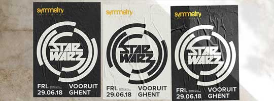 Star Warz presents Symmetry Recordings | Vooruit - 29/06/2018