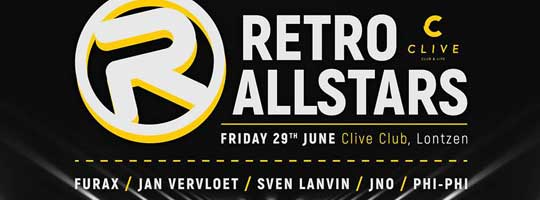 Clive presents Retro Allstars | Clive - 29/06/2018
