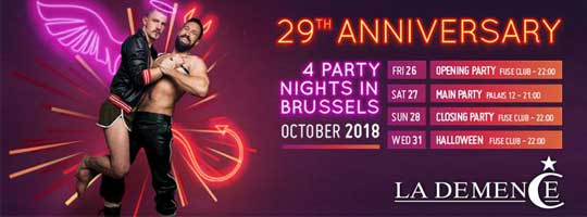 La Demence - 29th Anniversary: Main Party | Palais 12 - 27/10/2018