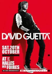 DAVID GUETTA - Liège - 20/10/2012   Hall des Foires