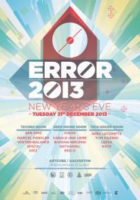 ERROR 2013 - 31/12/2013 | ArtCube