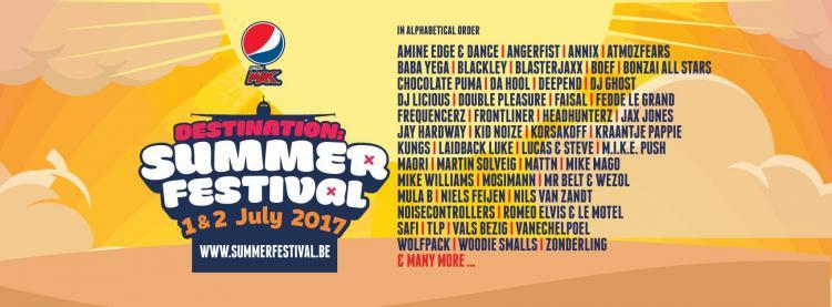 Summerfestival : Summerfestival 2017 - 01/07/2017