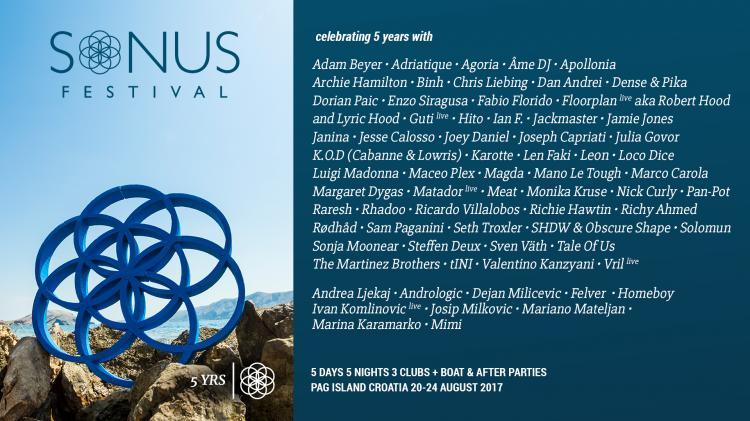 Sonus Festival : Sonus Festival 2017 - 20/08/2017