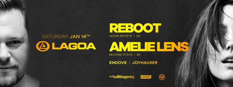 A Night w/ Reboot & Amelie Lens - 14/01/2017 | Lagoa