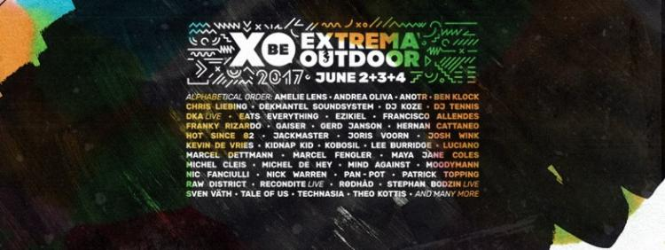 Extrema Outdoor Belgium : Extrema Outdoor Belgium 2017 (XOBE17) - 02/06/2017