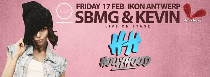 SBMG & KEVIN Live op HollyHood - 17/02/2017 | IKON