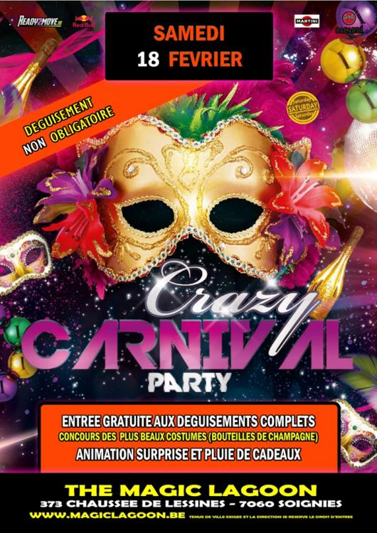 Crazy Carnaval Party - 18/02/2017 | The Magic Lagoon