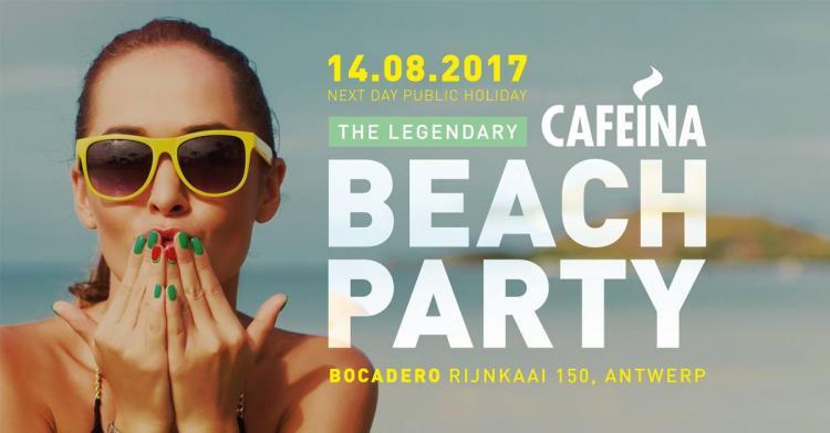 Cafeina : The Legendary Cafeina Beach 2017 - 14/08/2017