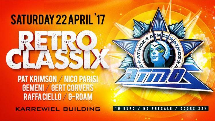 ATMOZ : Atmoz Retro Classics - 22/04/2017