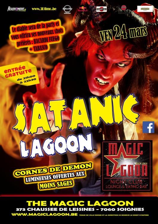 Satanic Lagoon - 24/03/2017 | The Magic Lagoon