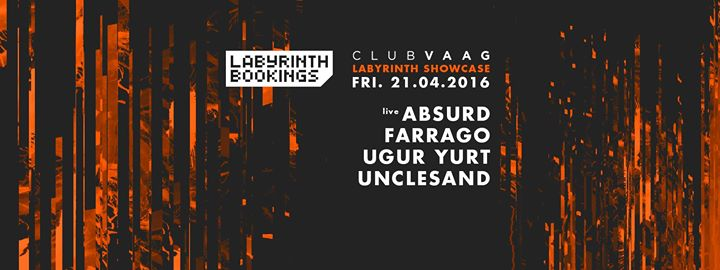 Labyrinth Club : Labyrinth Bookings Showcase - 21/04/2017