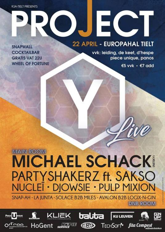 Project Y - Live! - 22/04/2017 | Europahallen