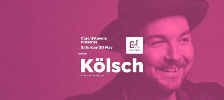 Café d'Anvers presents Kölsch - 20/05/2017 | Café d'Anvers