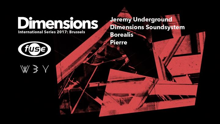 Fuse presents: Dimensions Festival Launch w. Jeremy Underground - 20/05/2017 | Fuse