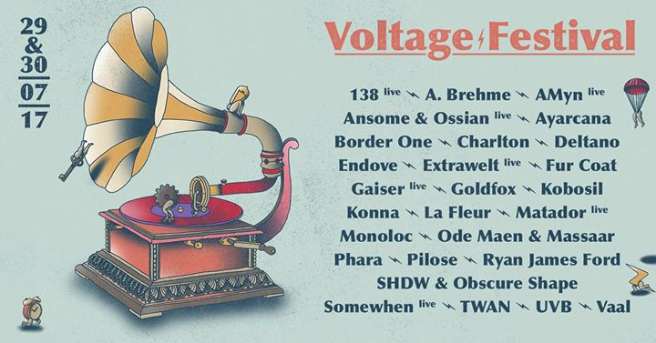 Voltage Festival : Voltage Festival 2017 - 29/07/2017