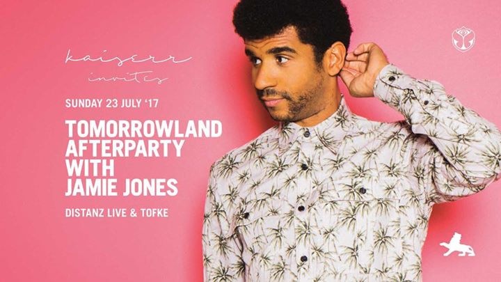 Jamie Jones at La rocca - Tomorrowland after party - 23/07/2017 | La Rocca