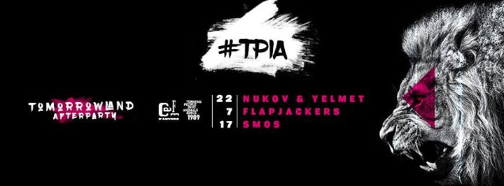 Tomorrowland afterparty: #TPIA - 22/07/2017 | Café d'Anvers