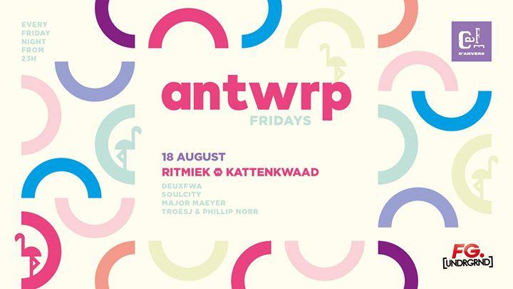 Antwrp: Ritmiek VS Kattenkwaad - 18/08/2017   Café d'Anvers