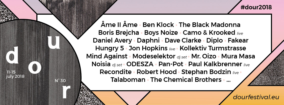 soirée Dour Festival 2018