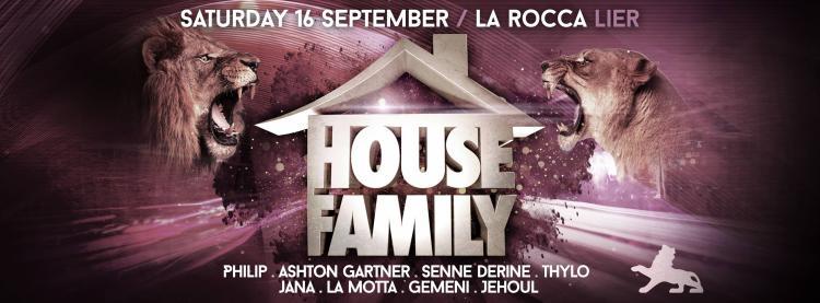 House Family - 16/09/2017 | La Rocca