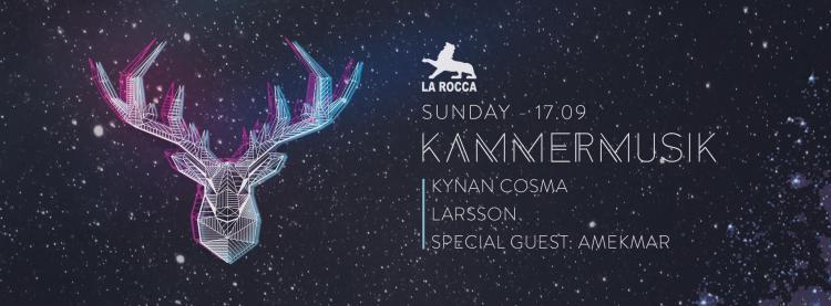 Kammermusik invites Amekmar - 17/09/2017 | La Rocca